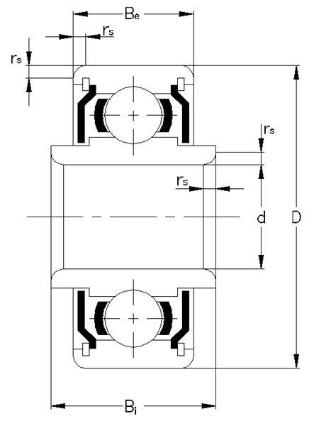 Item R4zz 0 2500 Inch In Bore Diameter D Shielded
